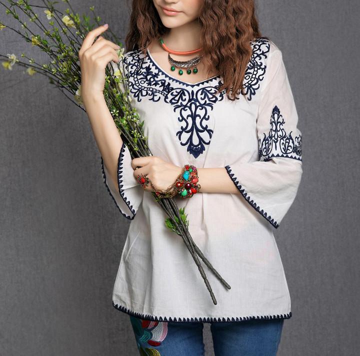 fc43f8f05e7 Купить нарядную блузку с вышивкой - Интернет-магазин Kerala.com.ua в Киеве