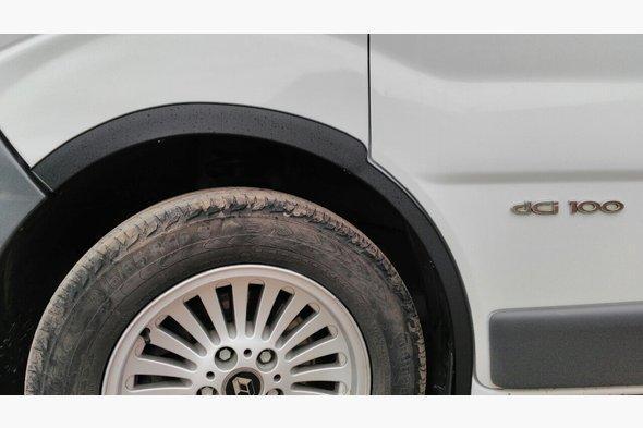 Накладки на колесные арки (4 шт) Renault Trafic 2001-2015 гг.