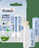 Balea Lippenpflege Sensitive DP - Бальзам для губ увлажняющий, двойная упаковка, 9,6 г