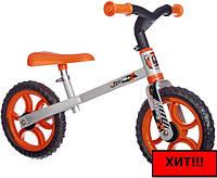 Детский металлический беговел Smoby Оранжевый 770200