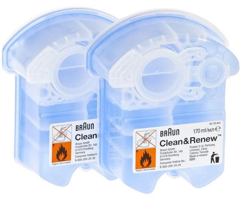 Kартридж CCR2 для чистки бритв Braun 81603596