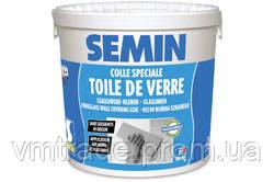 Клей для стеклообоев, стеклохолста под покраску Semin ColleToilde De Verre 10 кг