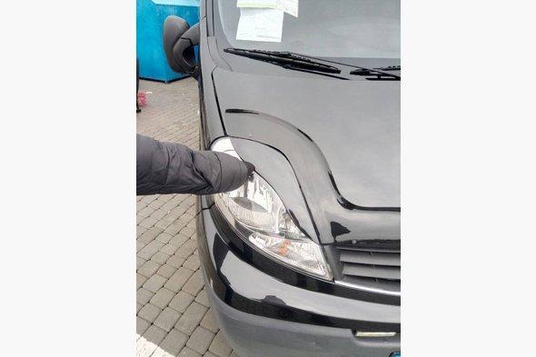 Реснички Porshe-style Renault Trafic 2001-2015 гг.