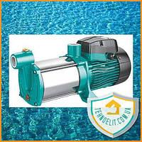 Насос центробежный многоступенчатый 0.75кВт Hmax 45м Qmax 100л/мин нерж LEO 3.0 (775415). Насос водяной.