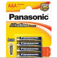 Батарейка Panasonic Alkaline Power LR03APB/4BP