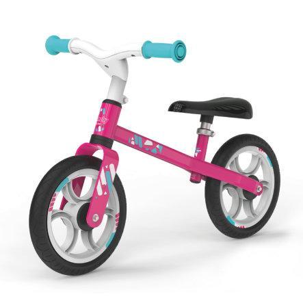 Детский металлический беговел Smoby Розовый 770205