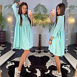 Женское летнее платье-рубашка свободного кроя (в расцветках), фото 4