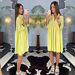 Женское летнее платье-рубашка свободного кроя (в расцветках), фото 7