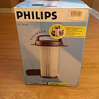 Фильтр цилиндрический 432200517520 (FC8048) с ручкой для пылесоса Philips Marathon FC9200-FC9229 Оригинал