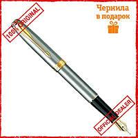 Перьевая ручка Parker Sonnet Stainless Steel GT 84 512