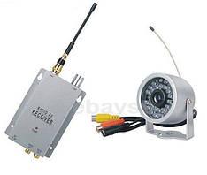 Набор беспроводная влагозащитная видео камера с 30 IR светодиодами 1.2 Ghz+приёмник видеосигнала (мод.A-30 IR)