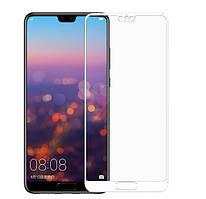 Защитное цветное стекло Mocolo (CP+) на весь экран для Huawei P20