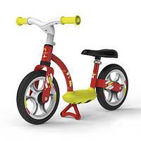 Детский металлический беговел с подножкой Smoby Красный 770122