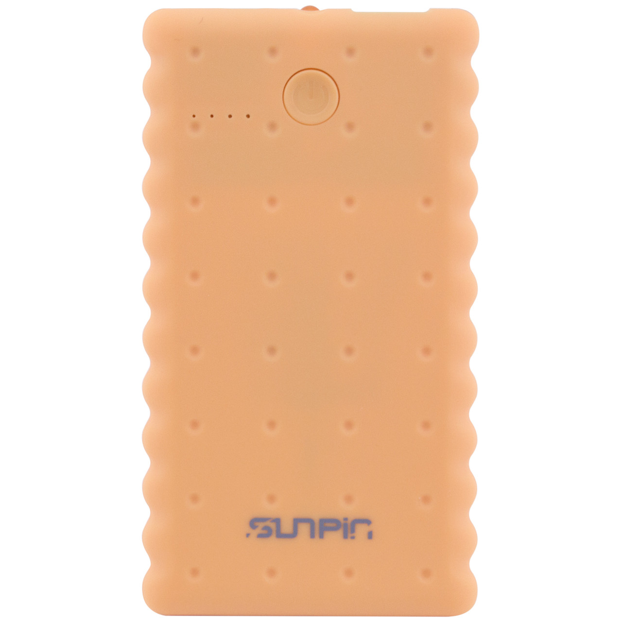 """Портативное зарядное устройство SunPin K50 """"Печенье"""" с фонариком (5000 mAh 1 USB 2A)"""