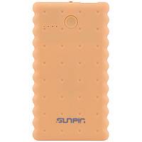 """Портативное зарядное устройство SunPin K50 """"Печенье"""" с фонариком (5000 mAh 1 USB 2A), фото 1"""