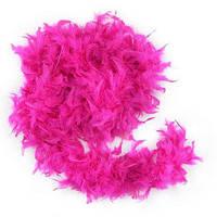 Боа перьевое эконом (розовое) 270216-136