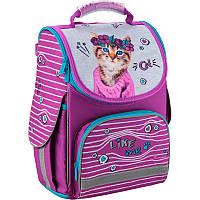 a5e87f70a7a7 Рюкзак школьный каркасный Kite Education 35x25x13 см 11.5 л Фиолетовый с  принтом