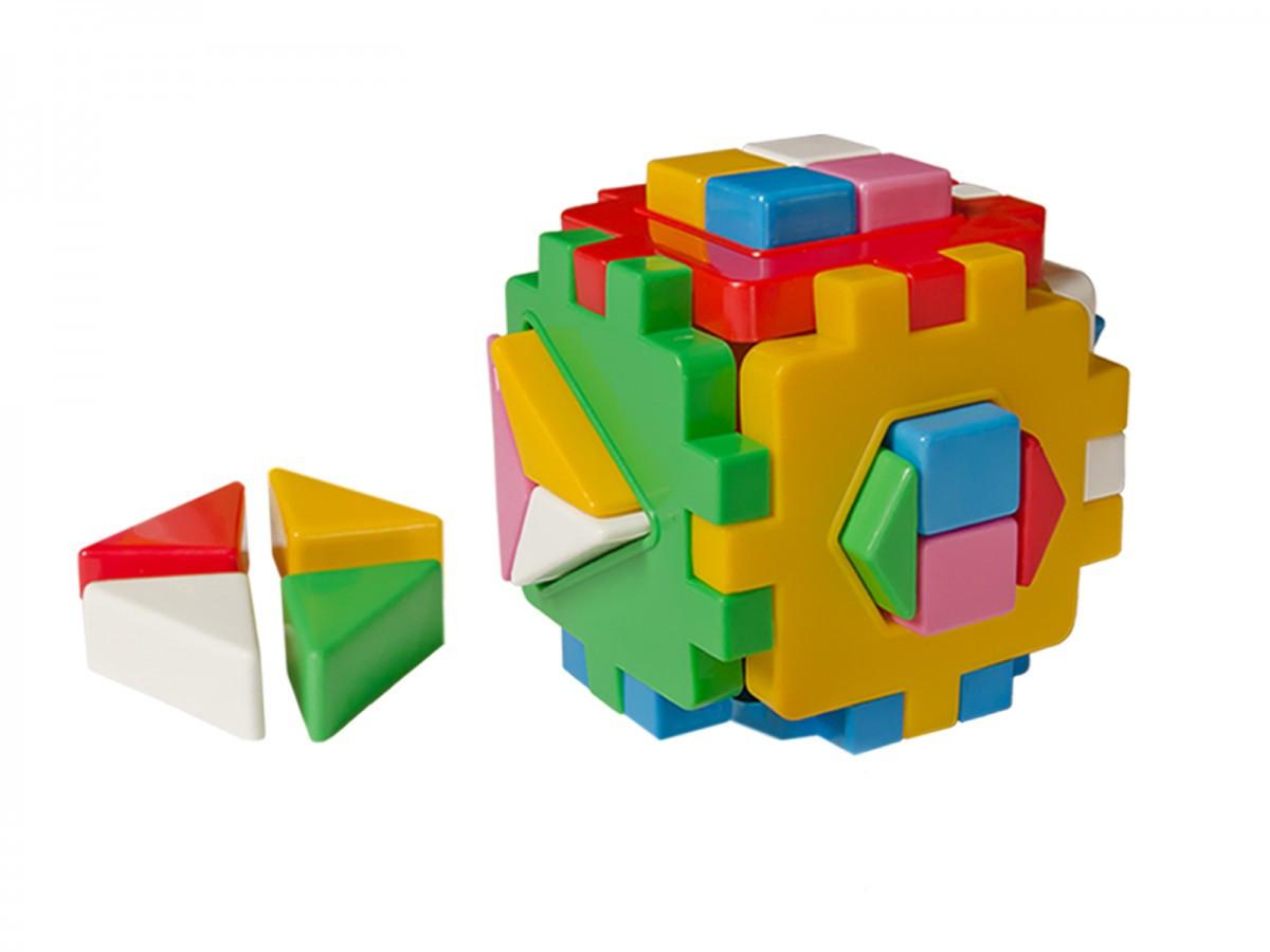 """Іграшка куб """"Розумний малюк Логіка 2 ТехноК"""" 2469, 12 см"""