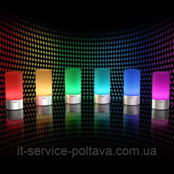 Розумний світлодіодний світильник (Aukey Smart Led Atmosphere Lamp lt-t6)