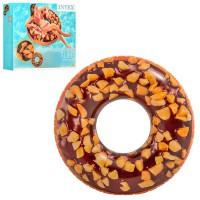 "Надувний круг Intex 56262 ""Шоколадний Пончик"""