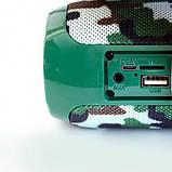Колонка JBL TG 117 Портативная Беспроводная Bluetooth Влагозащищенная камуфляжная, фото 4