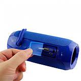 Портативна Bluetooth колонка вологостійка TG117 синя - Копія JBL 100% найгучніша колонка, фото 4