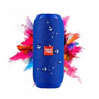 Портативная Bluetooth колонка влагостойкая TG117 синяя - Копия JBL 100% Самая громкая колонка, фото 1