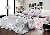 """Семейное постельное бельё с простыней на резинке (12091) хлопок """"Ранфорс"""", фото 1"""