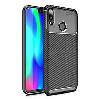 Чехол Carbon Case Huawei Y9 2019 / Enjoy 9 Plus Черный