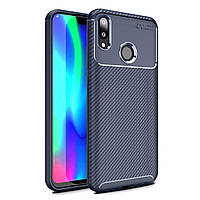 Чехол Carbon Case Huawei Y9 2019 / Enjoy 9 Plus Синий