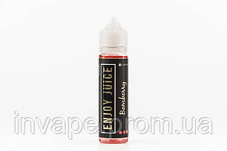 Жидкость для электронных сигарет Enjoy Juice - Bomberry (Напиток из лесных ягод с холодком) 60мл, 3 мг