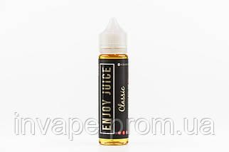 Жидкость для электронных сигарет Enjoy Juice - Classic (Взбитые сливки и клубника) 60мл, 3 мг