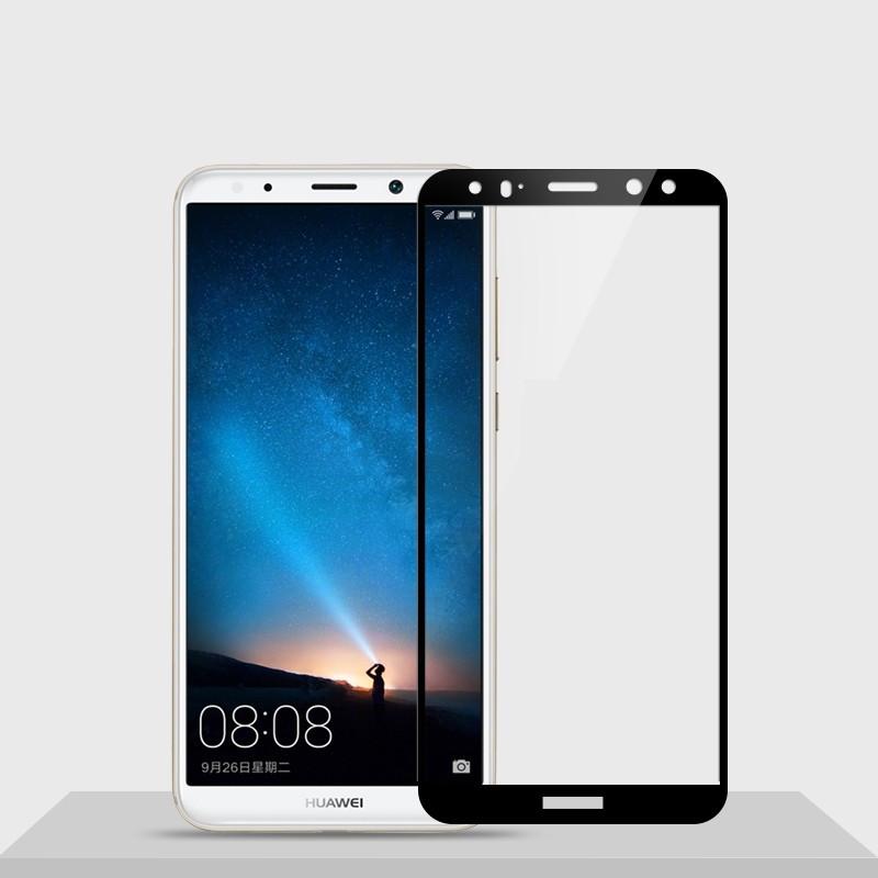 Защитное цветное стекло Mocolo (CP+) на весь экран для Huawei Mate 10 Lite