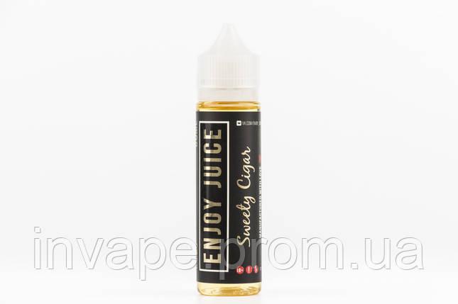 Жидкость для электронных сигарет Enjoy Juice - Sweety Cigar (Табак, орехи, ваниль) 60мл, 1.5 мг, фото 2