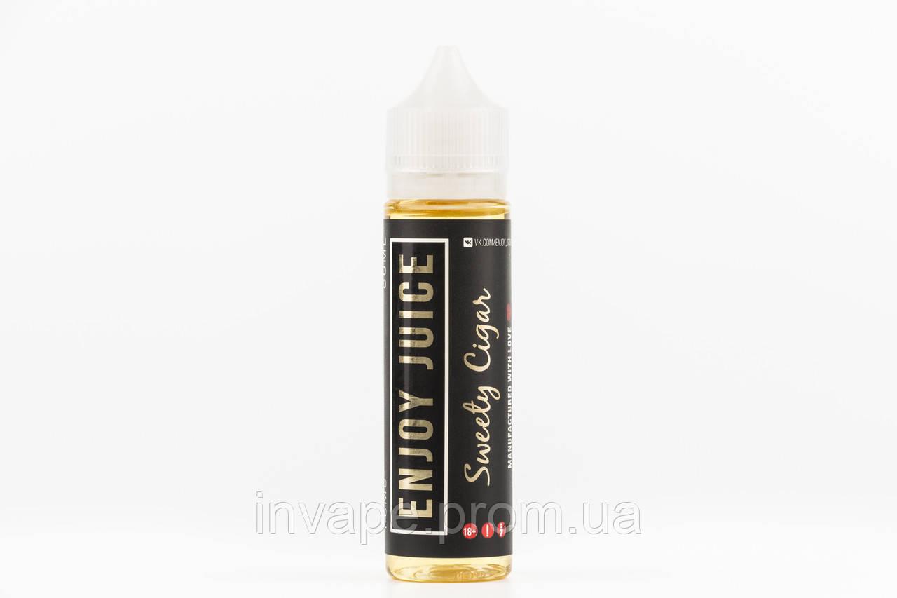 Жидкость для электронных сигарет Enjoy Juice - Sweety Cigar (Табак, орехи, ваниль) 60мл, 1.5 мг
