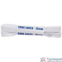 Шнурки Плоские Woly Sport, 75 см Белый