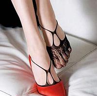 Ажурные носочки под летнюю обувь
