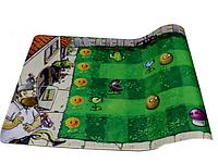 Поле для гри Рослини проти зомбі Plants vs zombies Подарунок при купівлі 7 наборів іграшок Галявина