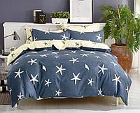 """Семейное постельное бельё с простыней на резинке (12093) хлопок """"Ранфорс"""", фото 1"""