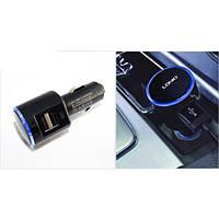 Автомобильное зарядное устройство LDNIO DL-DC216, 2 USB