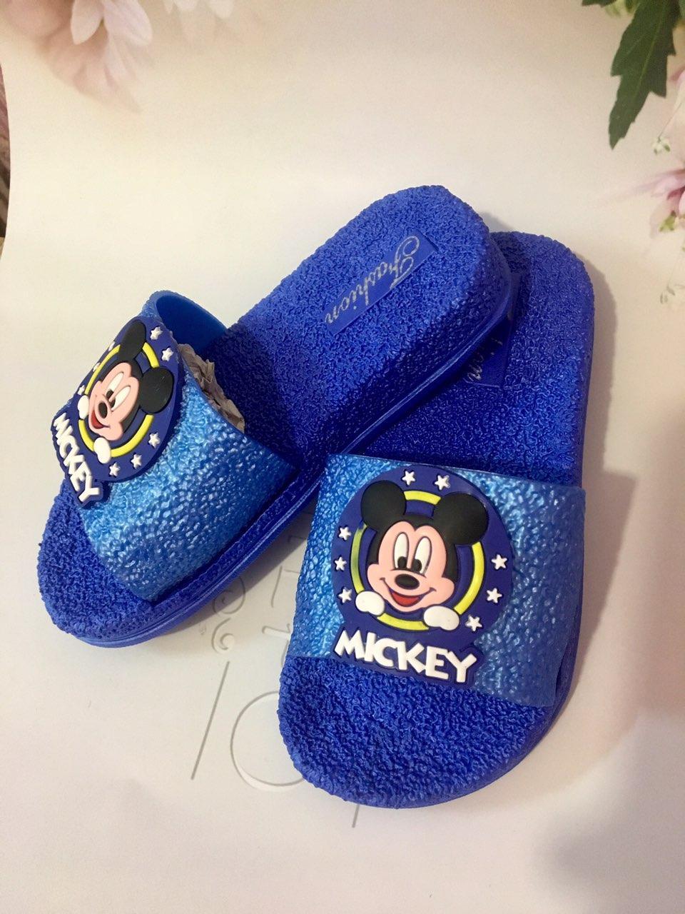 Детские шлепки Fashion Микки Маус , размеры 24-25-26-27-28-29 (без запаха)