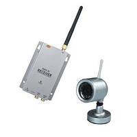 Комплект из беспроводной аналоговой уличной камеры WN-7 на 2.4 Ghz + приёмник видеосигнала (модель WN-7 kit)