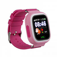 Смарт-часы с GPS, Wi-Fi, Smart Baby Watch Q100 Розовые