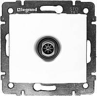 Механизм розетки TV простой, 2400 МГц 1,5дб белый Legrand Valena