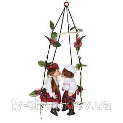 """Набір фарфорових ляльок """"ДІТКИ на гойдалках"""" Шотландія"""