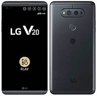 Смартфон LG V20 4/64GB Black +чехол и стекло, Snapdragon 820, 16+5/8 Мп, B&O Play, Hi-Fi DAC, 1sim