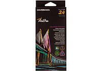 Карандаши цветные профессиональные Cool for school Art Pro 24 цвета треугольные CF15160