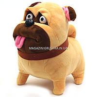 Мягкая игрушка «Мопс Мэл», тайная жизнь домашних животных 00112-71