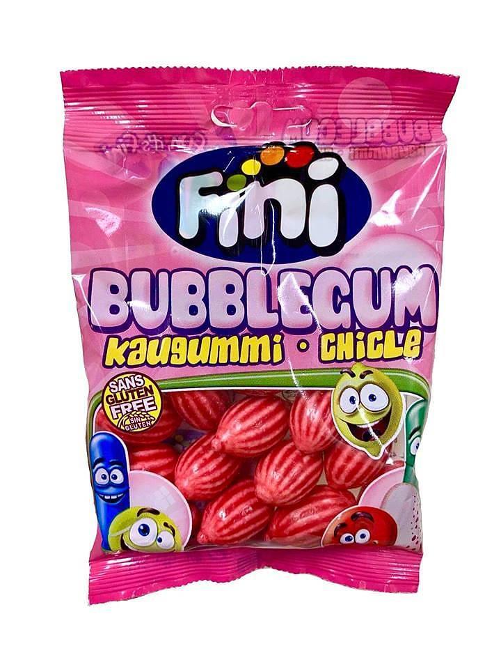 Жевательная резинка Fini Kaugummi-Chicle со вкусом клубники 100 гр. Испания