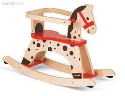 Janod - качалка карамельная лошадка